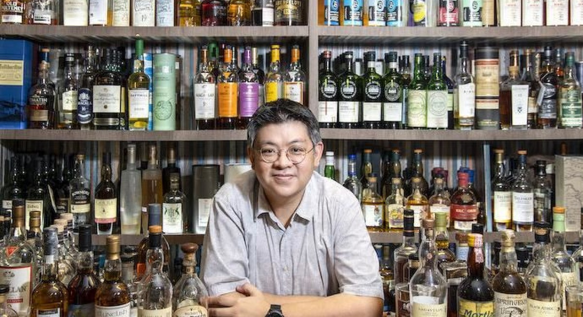 In the spirit of sharing: Whisky enthusiast Low Boon Seong opens up about his 3,000-bottle collection - THE EDGE SINGAPORE