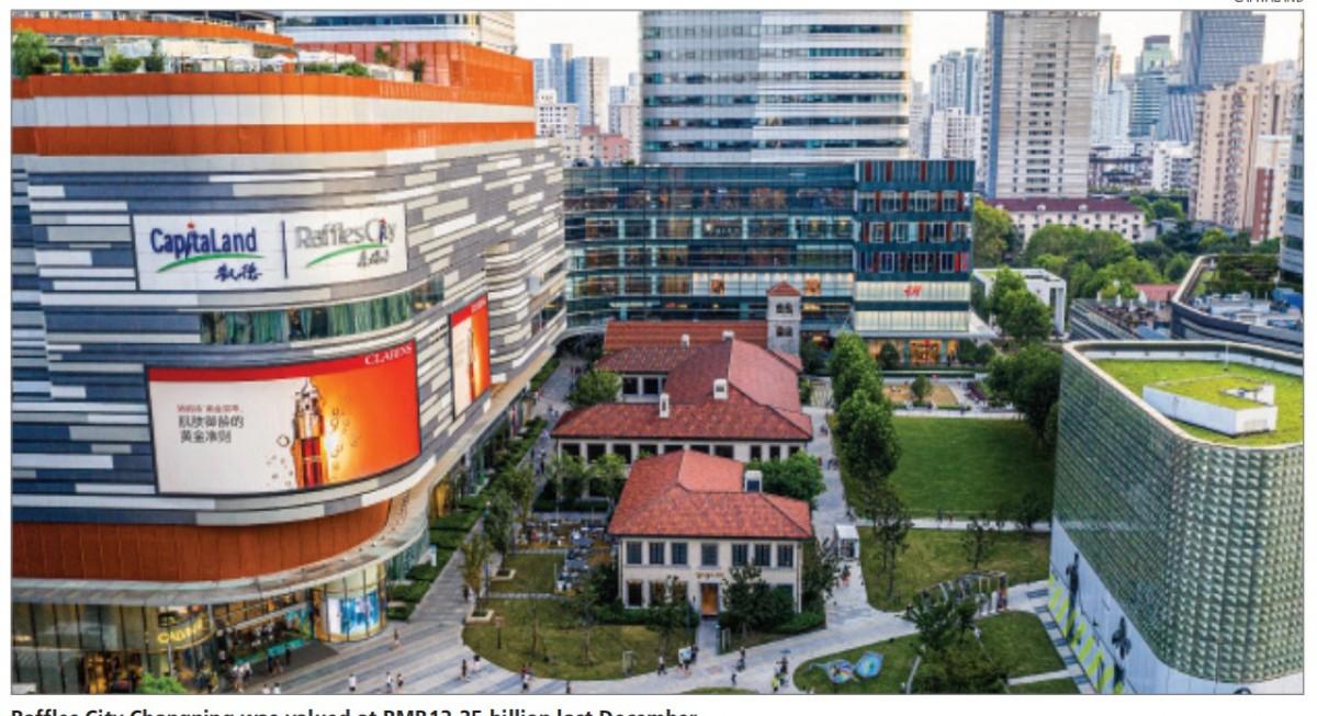 CapitaLand generates $1.53 bil in cash flow despite headline loss - THE EDGE SINGAPORE