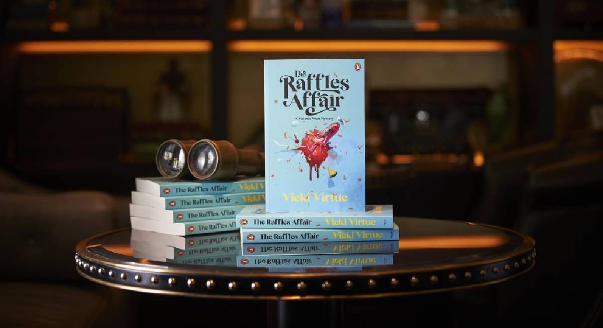 Raffles Hotel Singapore plays muse to writer-in-residence Vicki Virtue  - THE EDGE SINGAPORE