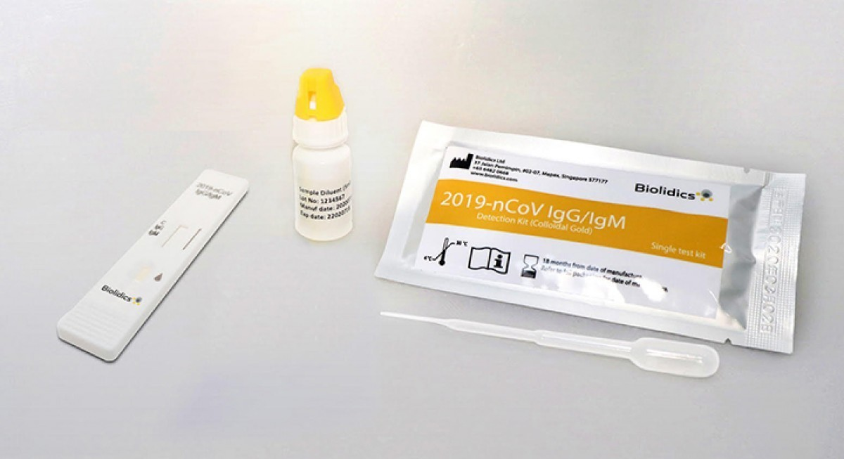 Biolidics receives authorisation from Indonesian health ministry for Covid-19 test kits - THE EDGE SINGAPORE
