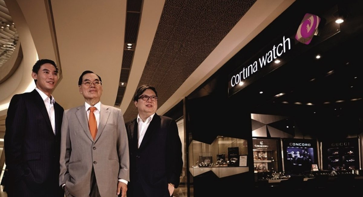 Cortina Holdings announces several appointments following acquisition of Sincere Watch - THE EDGE SINGAPORE