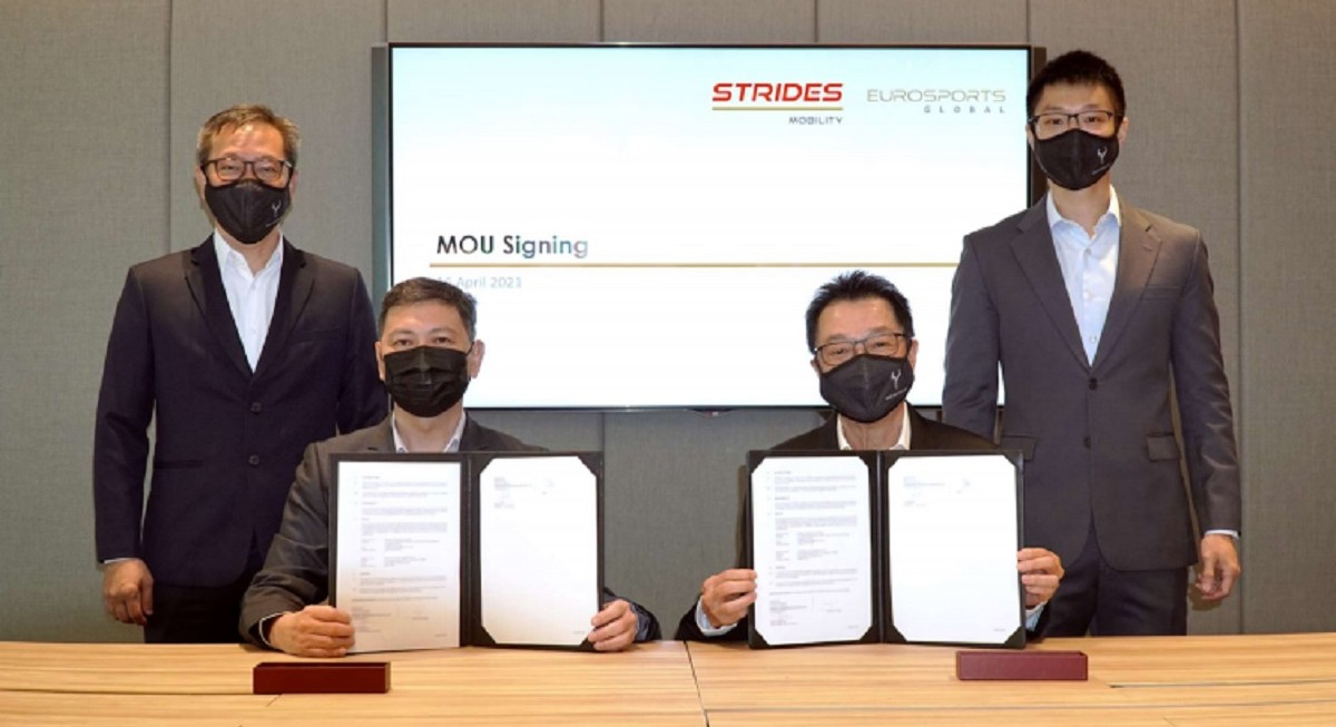 SMRT and EuroSports to supply smart electric motorcycles in Singapore and APAC - THE EDGE SINGAPORE