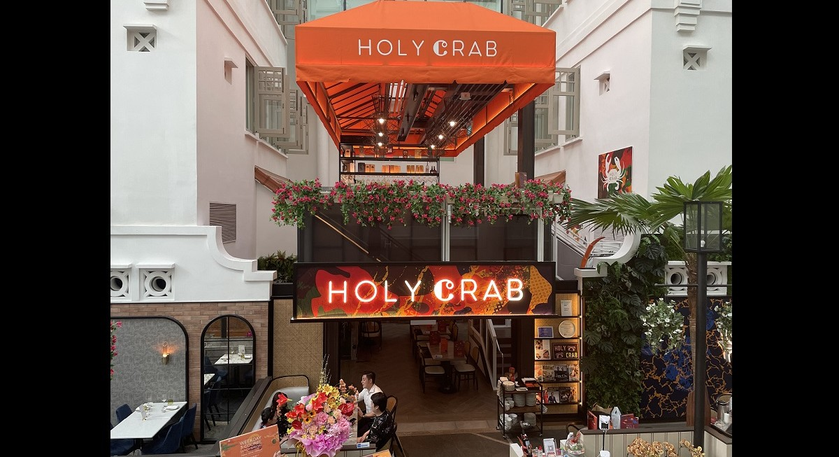 Food review: Crustacean overload at Holy Crab - THE EDGE SINGAPORE