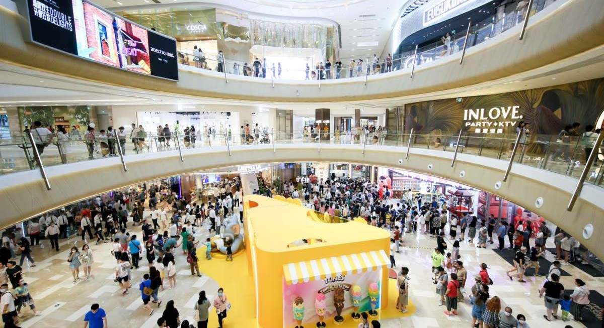 CapitaLand's Raffles City The Bund in Shanghai draws over 300,000 shoppers on opening day - THE EDGE SINGAPORE