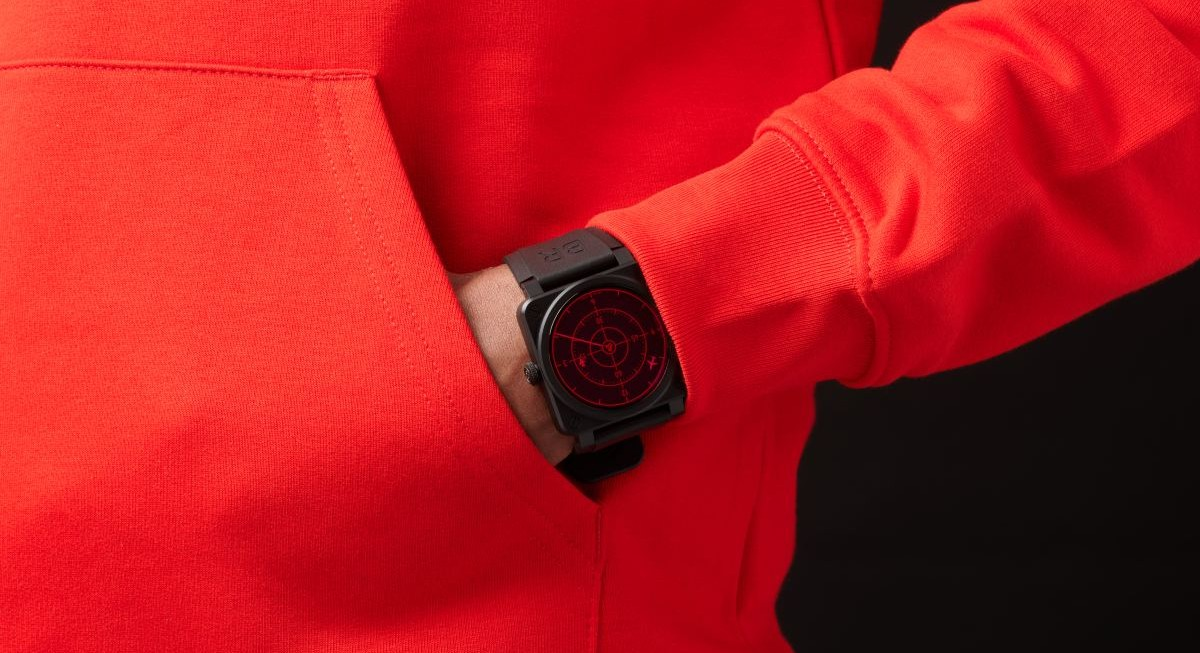 Red Alert: Introducing the new Bell & Ross BR 03-92 Red Radar Ceramic - THE EDGE SINGAPORE