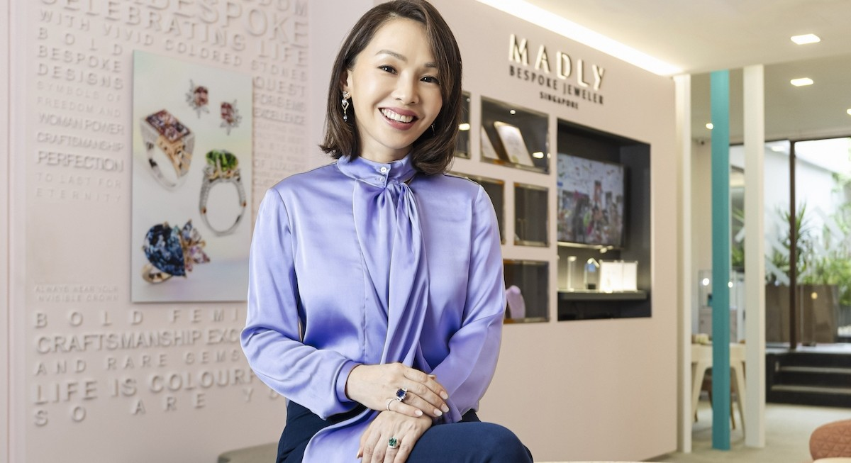 Former DJ and founder of bespoke jewellery brand Madly, Maddy Barber shares insider info on gemstone acquisition - THE EDGE SINGAPORE