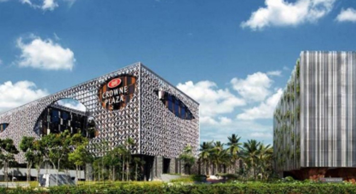 OUE Hospitality Trust (OUE HT) Crowne Plaza Changi Airport (CPCA)