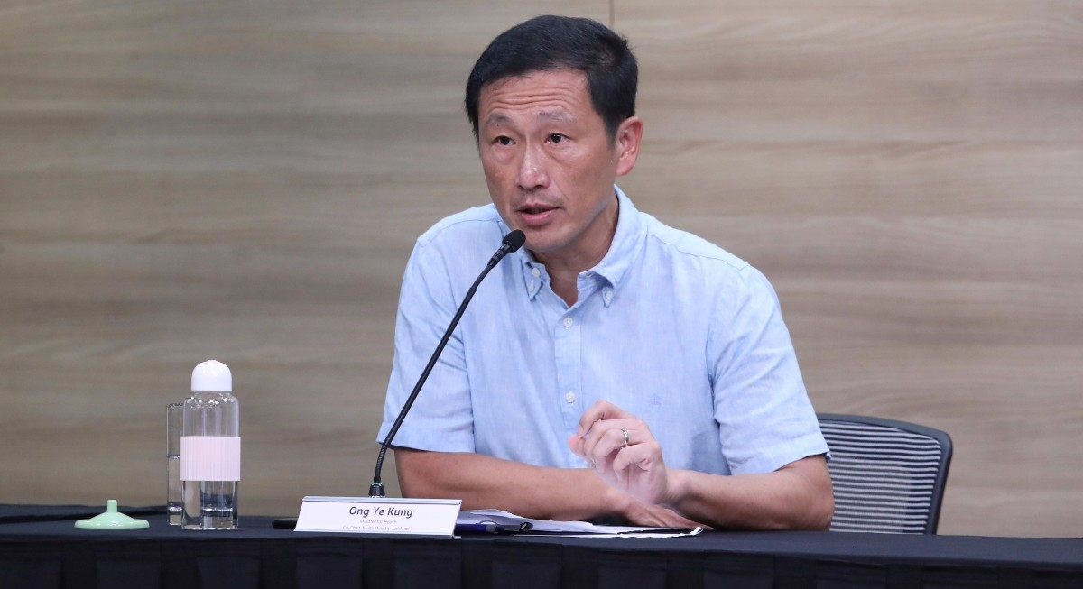 Singapore studying if to extend the time between vaccine doses: Ong Ye Kung - THE EDGE SINGAPORE