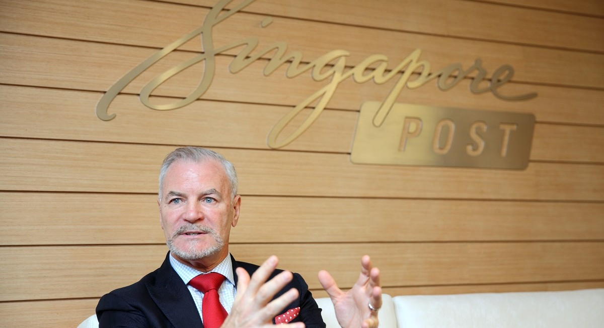 SingPost group CEO Coutts has resigned, replacement search underway - THE EDGE SINGAPORE