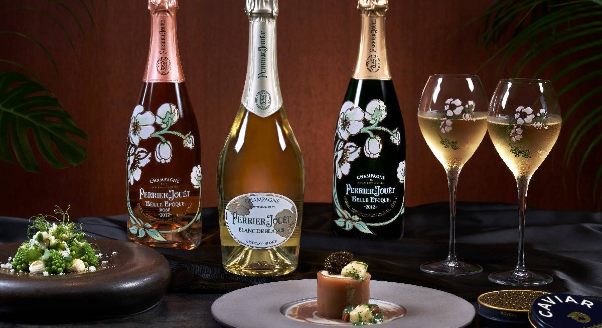 Sample Perrier-Jouët champagnes at table65's Art of the Wine dinner series - THE EDGE SINGAPORE