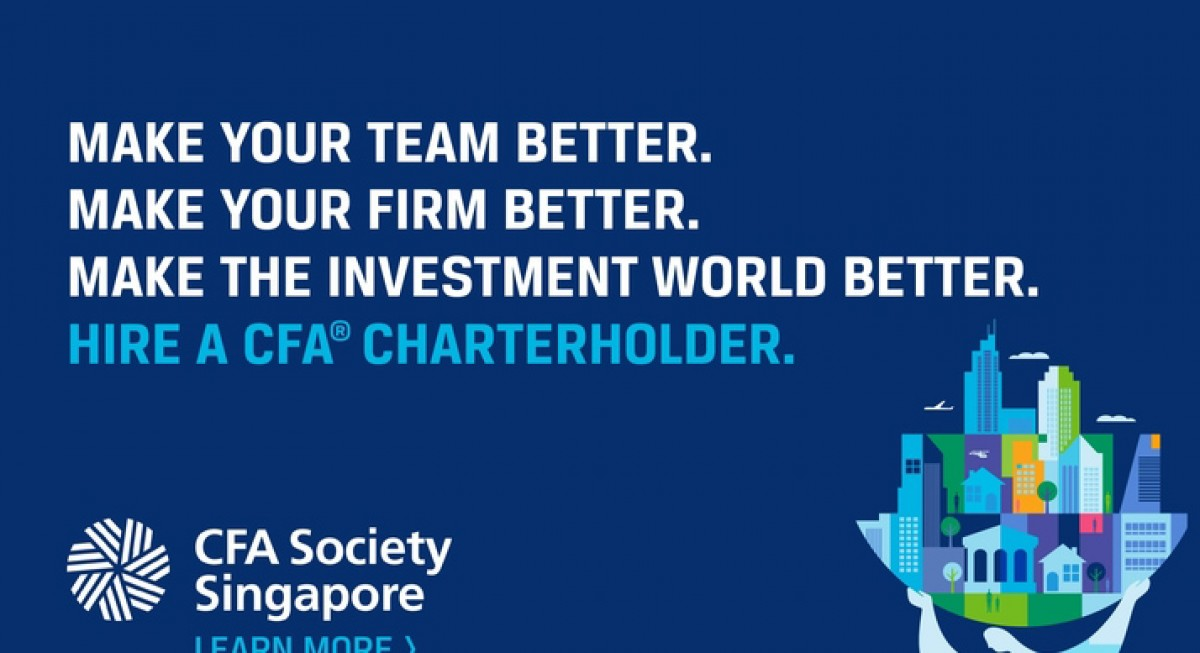 CFA charterholders  measure up to the needs of their clients and the demands of a changing world.  - THE EDGE SINGAPORE