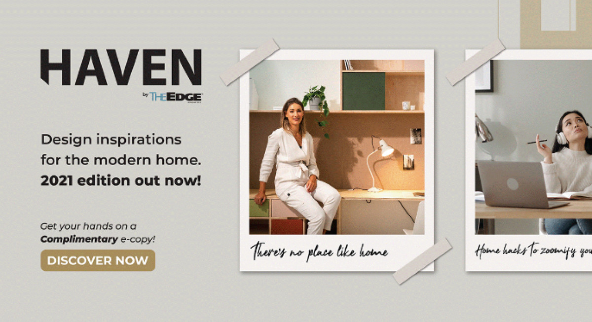 The Edge Singapore's lifestyle team Options publishes second issue of HAVEN - THE EDGE SINGAPORE