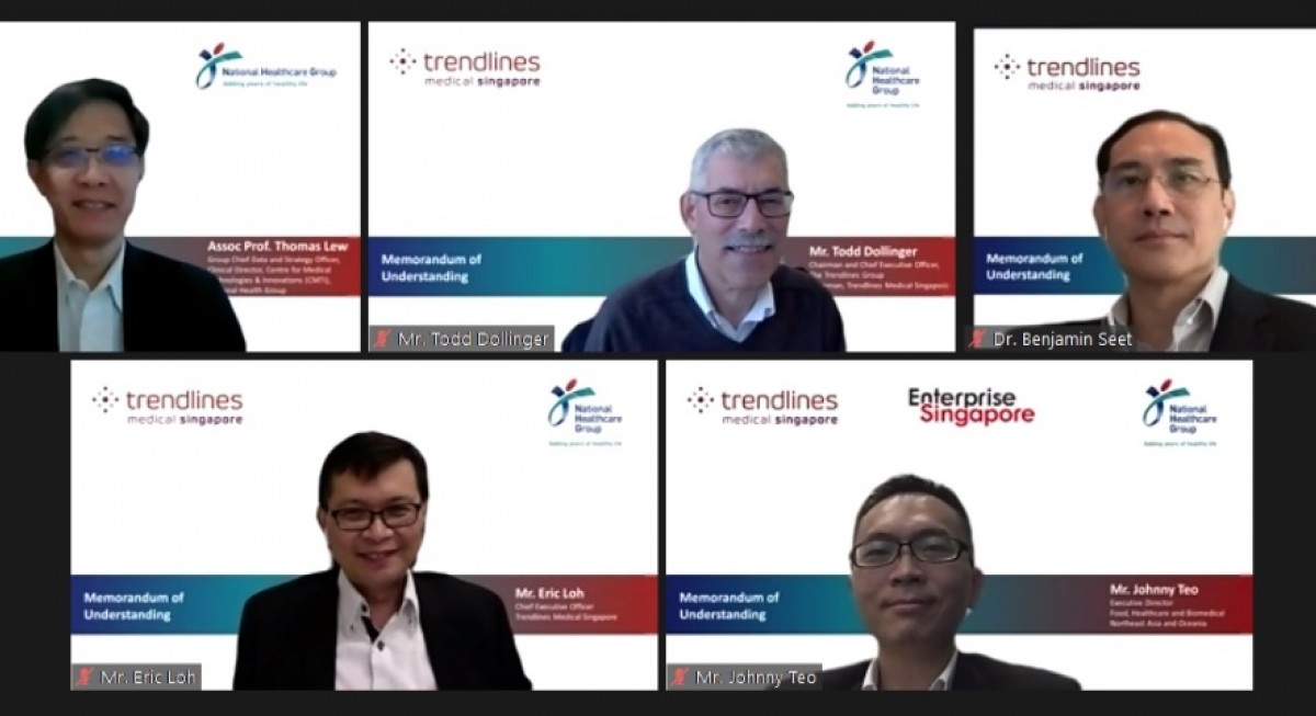 Trendlines Medical Singapore renews three year MOU with National Healthcare Group with view towards facilitating greater exchange of knowledge - THE EDGE SINGAPORE