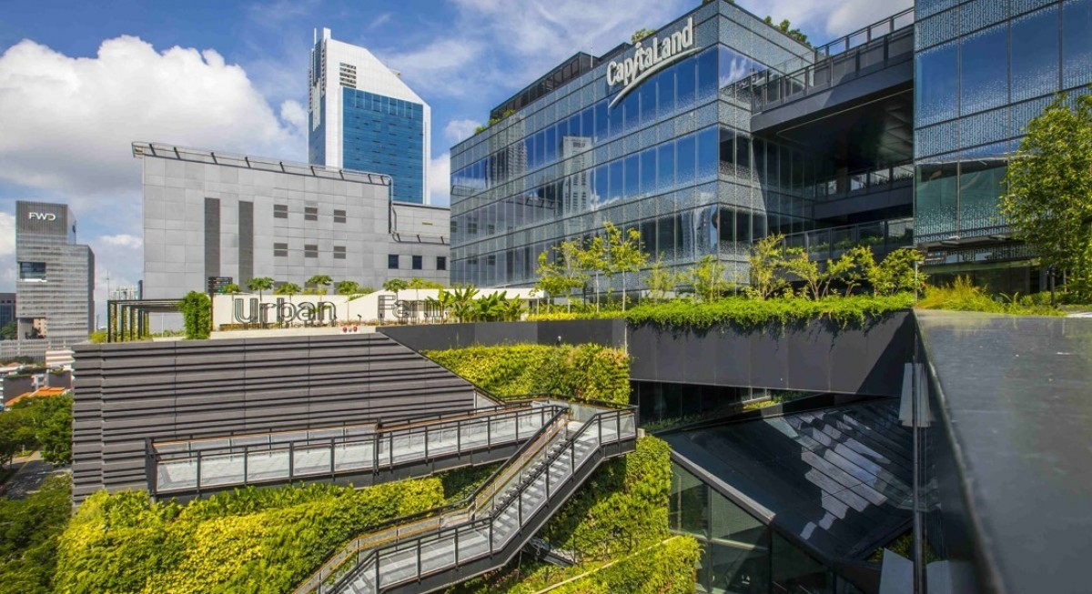 CapitaLand sees 9.5 times earning growth to $922.2 mil for 1H21 - THE EDGE SINGAPORE